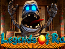 Онлайн слот Legends of Ra